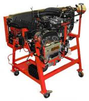 Educational turbo-diesel engine with direct injection