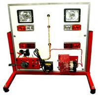 The car's electrical system training stand E-XAL002