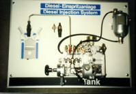 Diesel injection pump system training stand E-1090