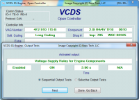 Automotive control unit diagnosis device VCDS (Ross-Tech)