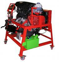 The petrol engine with direct fuel injection model