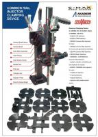 For all types of diesel injectors dismantling and assembly stand