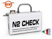 Nitrogen generator SPIN for automotive A/C system leak testing