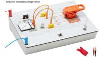 Car high voltage source isolation trainer